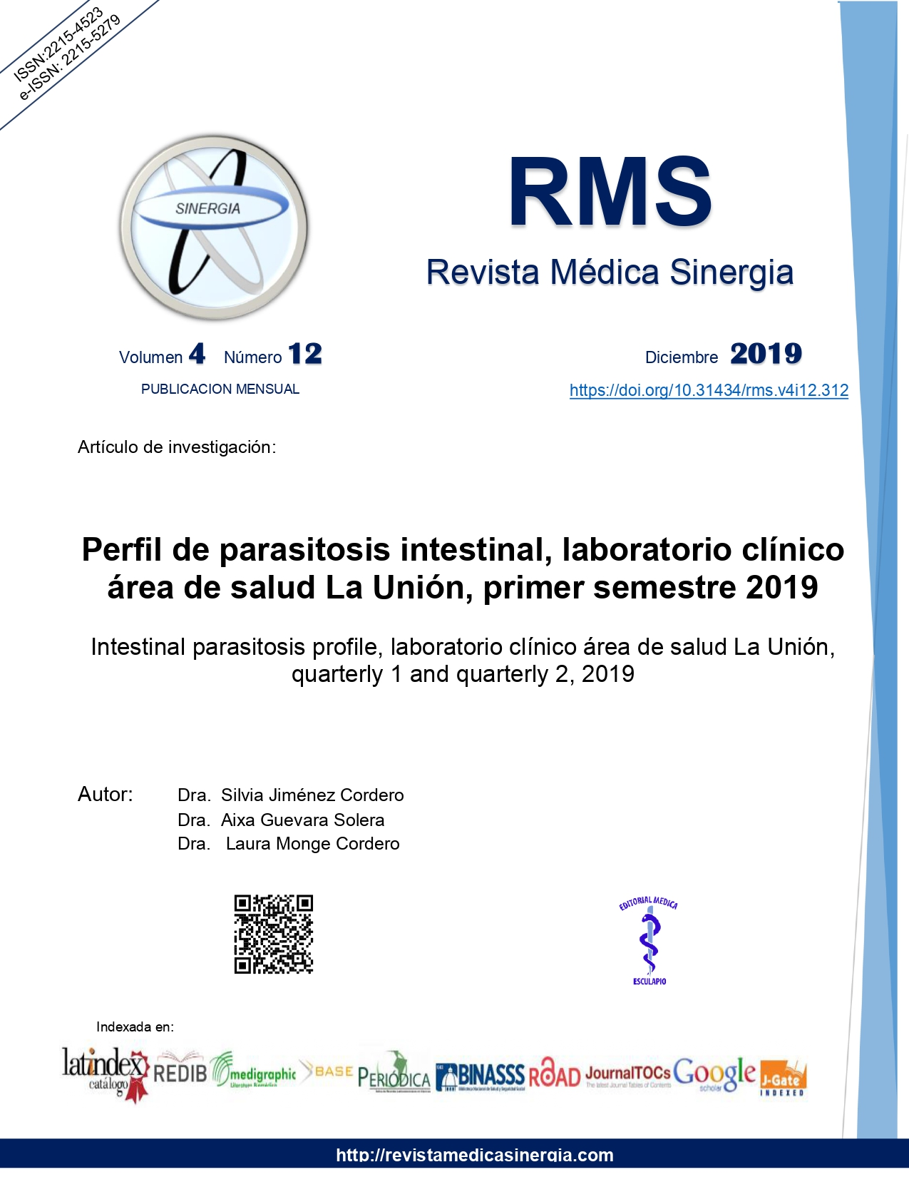 prevalencia de parasitosis intestinal en mexico