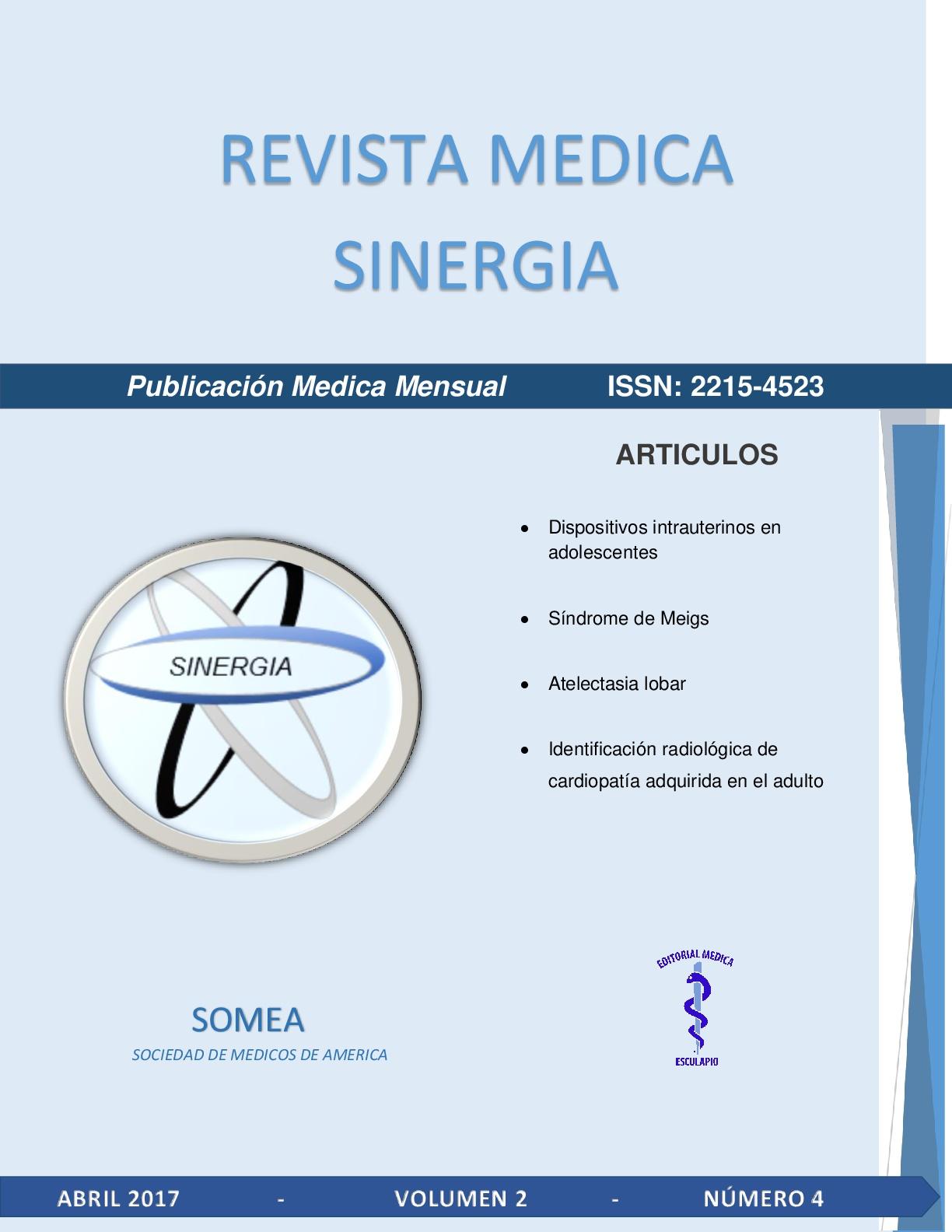Revista Medica Sinergia
